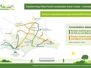 Transforming Cities Sustainable Transport Consultation Map