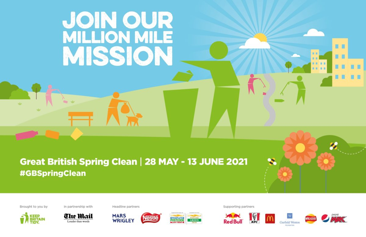 Keep Britain Tidy Support Our Campaign 2